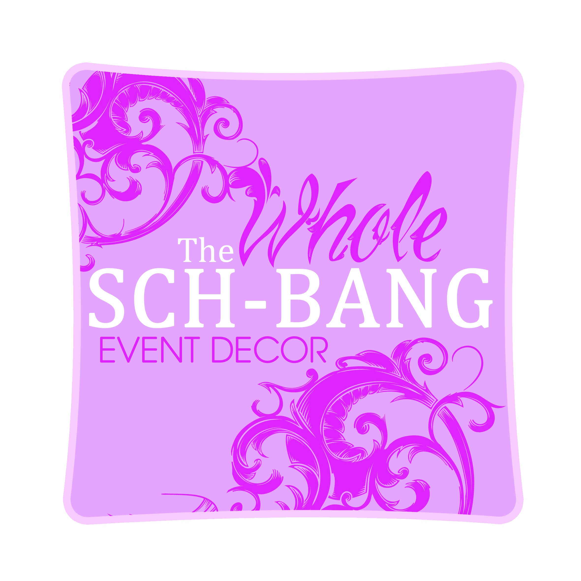 The Whole Sch-bang Event Decor Logo